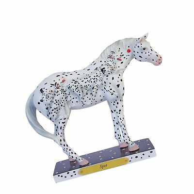 Enesco Trail of Painted Ponies Spot Stone Resin Horse Figurine, 6