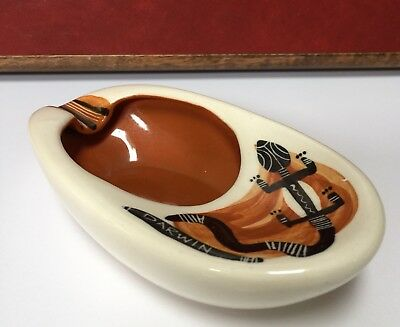 Vintage Studio Anna Aboriginal Design Ashtray Darwin $36 Free Post