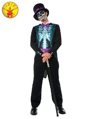 NEW Men's Day of the Dead X-Rax Skeleton Suit Day of the Dead