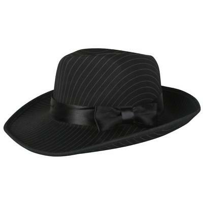 NEW Pin Striped Gangster Hat 1920's Gatsby Accessories