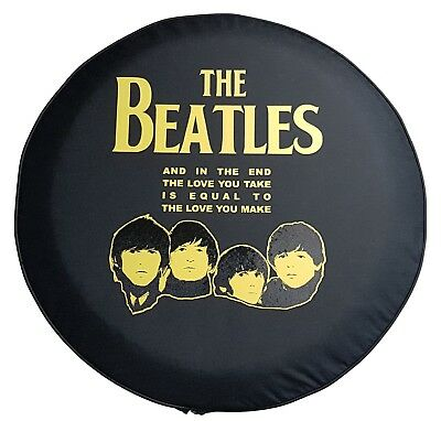 """SpareCover Brawny Series (authentic) US made - The Beatles Vinyl Tire Cover 32"""""""