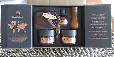 THE BODY SHOP Spa of the World Luxurious Body Collection Gift Pack  NEW