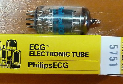 Sleeve = 5 X 5751 = 12Ax7 Ecc83 Substitute Audio Nos Nib Philips Perfect Best Of