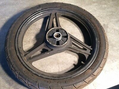 Yamaha YBR 125 - Rear Back Wheel & Tyre - 90/90-18 Part Worn