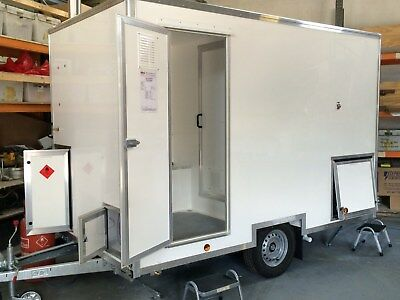 Mobile Shower Hygiene Facility (Festivals, Decontamination, Fire & Flood)
