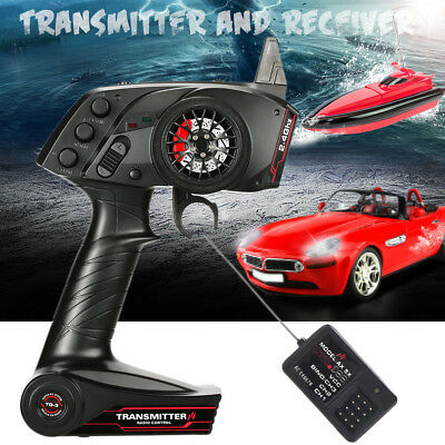 AX5S 2.4GHz 3CH Digital Wireless Controller Transmitter Receiver For RC Car Toy