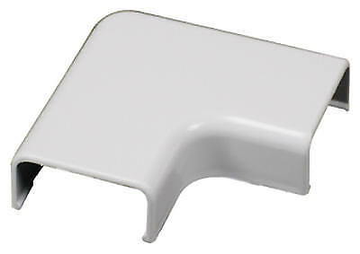 Cordmate Ii White Flat Elbow Cord Cover, Wiremold, C56