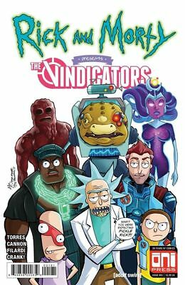 Rick And Morty Presents The Vindicators #1 Brain Trust Variant