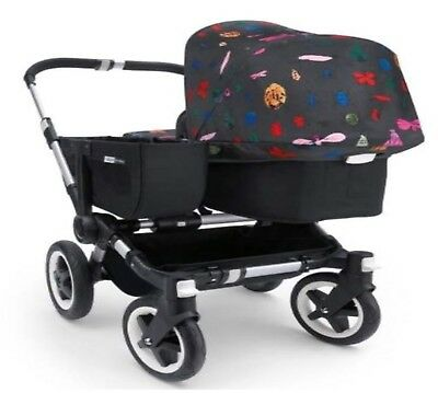 Bugaboo Donkey Tailored Fabric Set - Andy Warhol Bugs (Discontinued)