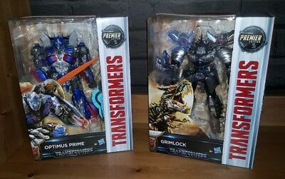 Transformers The Last Knight Premier Edition Action Figures (Hasbro, 2016)