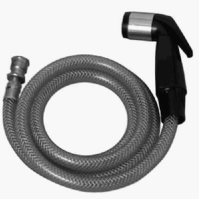 SINK SPRAY & Hose For Kitchen Sink, 4\', Black, BrassCraft ...