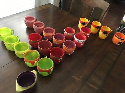 Assortment of Pillsberry collectable mugs from the 1960's / early 70's