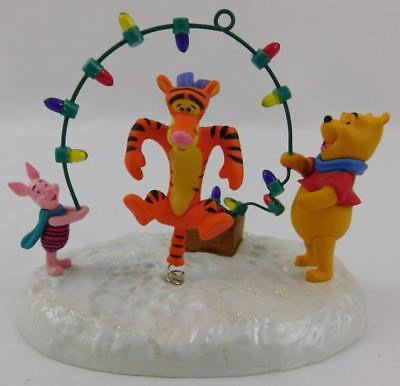Hallmark Winnie The Pooh Tigger's Bouncy Holiday Christmas Ornament 2009 A