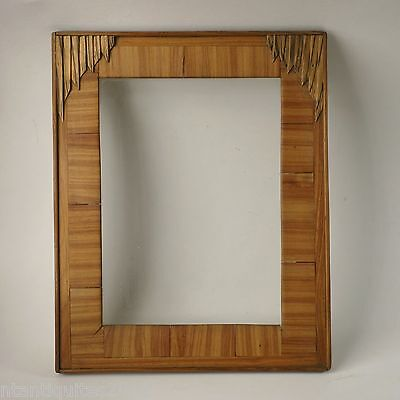 FRAME WOOD ROSEWOOD circa 1930 rabbet 10 5/8x8 1/8in