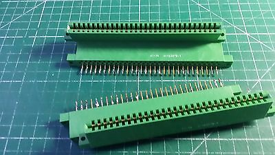 30 Pin PCB Edge Connector Amphenol Brand 2pcs