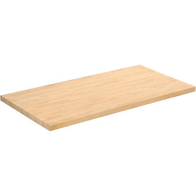 "Workbench Top - Birch Butcher Block Square Edge, 60""W x 30""D x 1-3/4"" Thick, Lot"