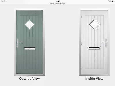 Hardwood Front Door Cottage Style Low Price Made To Measure