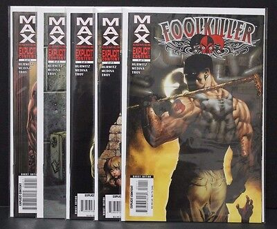 Foolkiller MAX 1-5 Complete Set Near Mint Marvel 2007