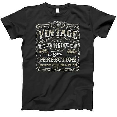 61st Birthday Gift Shirt | Vintage 1957 | Funny | 61 Years Old | Born in 1957 |