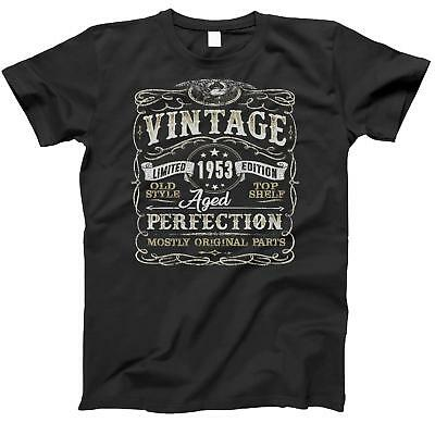 65th Birthday Gift Shirt | Vintage 1953 | Funny | 65 Years Old | Born in 1953 |