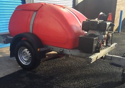 WESTERN TOWABLE 1100L Yanmar L100 Diesel E/Start PRESSURE WASHER WATER BOWSER