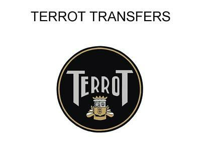 Terrot Tank and Rear Mudguard Transfers Decals Stickers DTER103