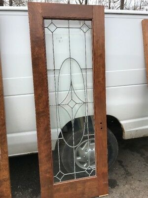 OXF 21 Leaded Beveled Entrance French Door 28 7/8 X 81.5
