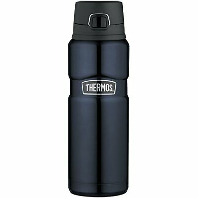 Thermos Stainless King 24 Ounce Drink Bottle Midnight Blue Containers Thermoses