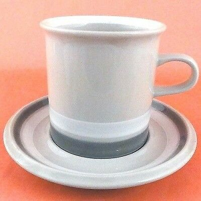 """SALLA Arabia Finland Cup & Saucer 3.5"""" tall made in Finland NEW NEVER USED"""