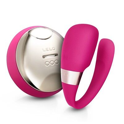 Lelo Tiani 3 Deep Rose Couples Massager Valientines gifts