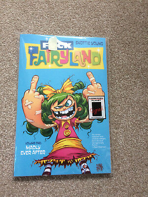 I Hate Fairyland Volume 1 Madly Ever After Skottie Young Includes Signed ArtCard