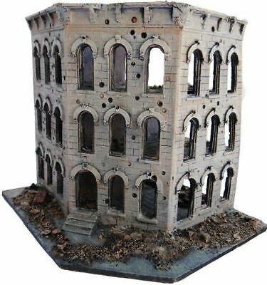 15mm City Block Ruins-3 Story Building with 2 removable floor No. 1032