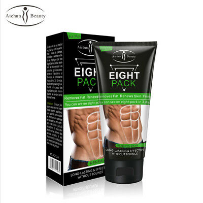 Aichun Eight Pack For Men Cream Strong Waist Torso Smooth Lines Press Belly 170g