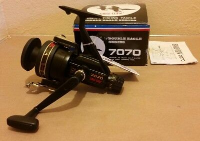 NOS Eagle Claw 7070 Double Eagle Series Spinning Reel in Original Box New