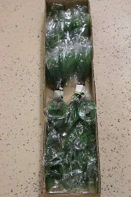 "#85 Artificial Silk 15"" Pine Stem Branches Green 12 Pieces"