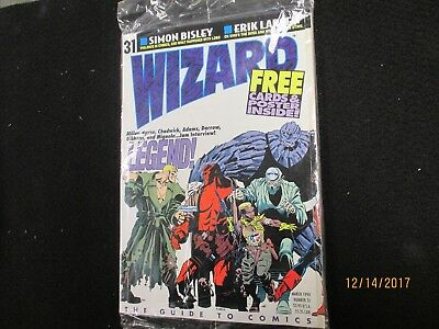 Wizard #31 March 1994! Sealed!