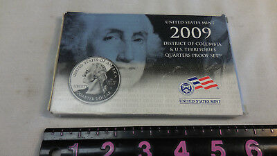 U.S. Mint (S) 2009 District of Columbia & U.S. Territories Quarters Proof Set