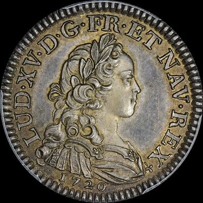 1720 Ecu Finest @ Ngc & Pcgs Sp64 1720 1/3 Ecu France Maz-2227A Uber-Toned Lxv