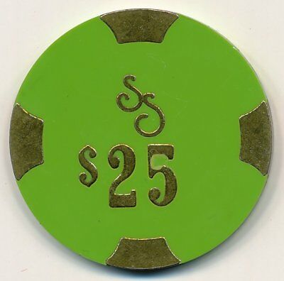 Silver Smith Wendover 1st Issue $25 Chip 1984
