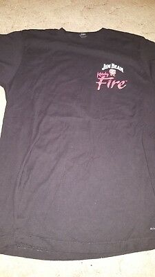 jim beam Kentucky fire large tshirt