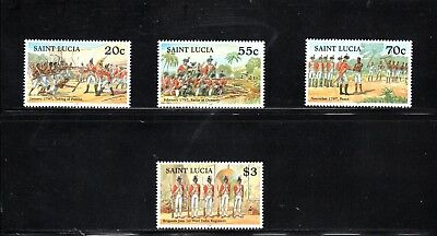 St Lucia 1997 Bicentenary of the Brigand's War SG 1171/4 MUH