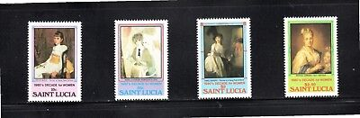 St Lucia 1981 Decade for Women SG 597/600 MUH