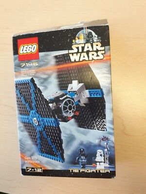 LEGO Star Wars Tie Fighter 7146 COMPLETE w/ instructions no box ...