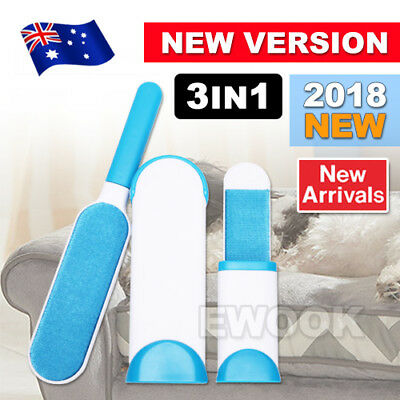 2018 Reusable & Washable Pet Hair & Lint Remover Magic Cloth Fabric Brusher -AU