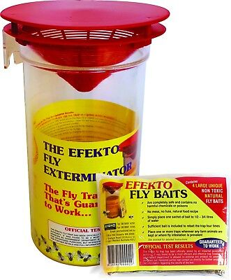 EFEKTO 2.5 Litre Rural Fly Trap, The Exterminator