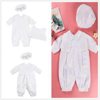 8c79ba698c99b BABY BOYS WHITE Christening Outfit Smart Set Party Wedding Suit ...