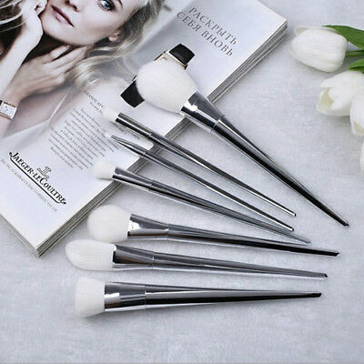 7Pcs Pro Makeup Brushes Set Eyeshadow Cosmetic Tool Eye Face Beauty Kabuki Brush
