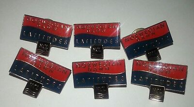 Norwegian Cruise Lines Latitudes Pins -Lot of  5 -  Norwegian Dawn