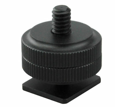 "JJC MSA-3 Hot Shoe Mount 1/4"" Shoe Adapter for Zoom H4n and Zoom H1"