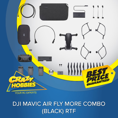 Dji Mavic Air Fly More Combo (Black) Rtf